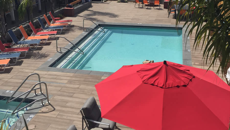 Santa Cruz ADA Pool Patio Room